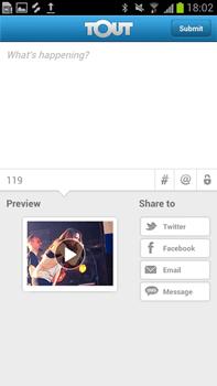 tout share settings