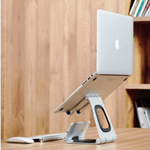 Laptop and Smartphone Stand