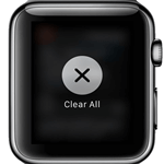 Cleat all notifications apple watch