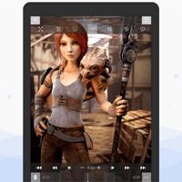 iOS media player