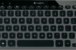 Bluetooth Illuminated Keyboard for PC, Smartphone and Tablet by Logitech