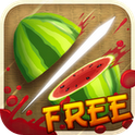 Fruit Ninja IPhone Game Fruits Slashing By Fingers