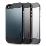 Metallic Finishing Slim Armor Case For IPhone 5 BY Spigen
