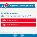 Domino's Pizza App On Windows Phone  8 Order Pizza Online