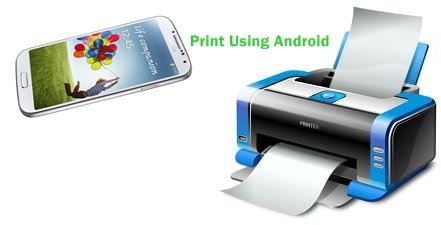 Print Using Android