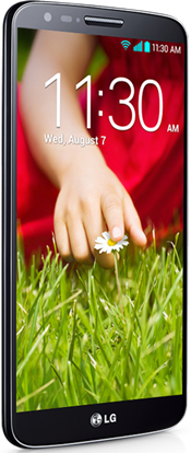 LG G2 Front View