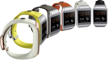 Samsung Galaxy Gear Colors
