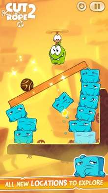 Cut The Rope 2 iOS