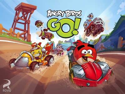 Downhill Racing Game