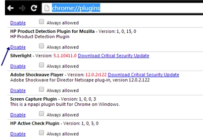 Plugins For Chrome