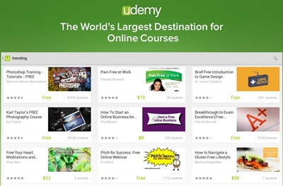 Udemy Online Courses Library