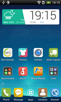Mobolive Android launcher