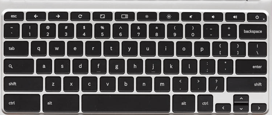 Keyboard shortcuts for chromebook