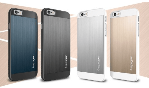 Spigen Aluminum cases iPhone 6