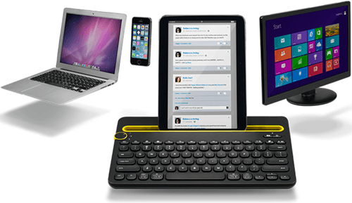 Wireless Multi Device Keyboard