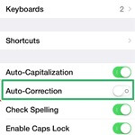 How to Disable Autocorrect Feature on iPhone and Mac