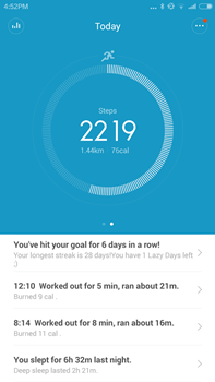 Mi Band Application
