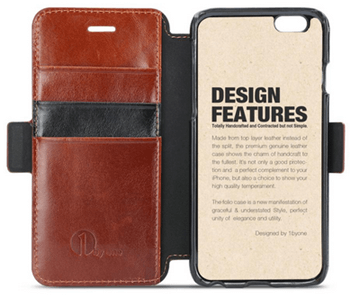 1byone genuine leather case