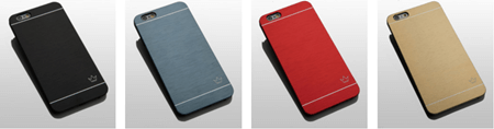 slim aluminum case colors
