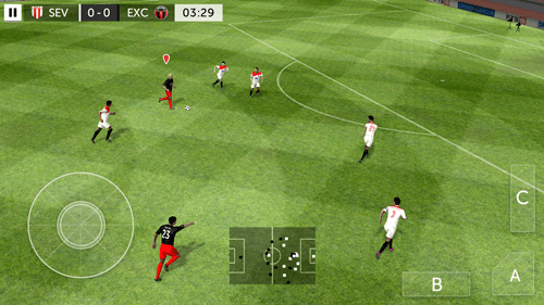 First Touch Soccer 2015 Android game