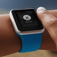 clear all notification from Apple watch