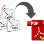 Export MBOX to PDF Format to Print Multiple Copies