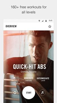 Work Out app