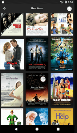 Movie recommend app