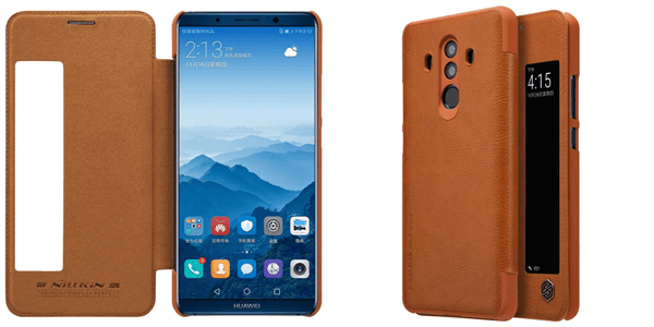 Mate 10 pro leather case