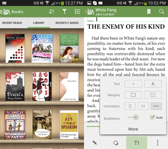 Aldiko Book Reader Android app