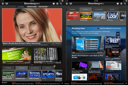 bloomberg iPhone Tv app