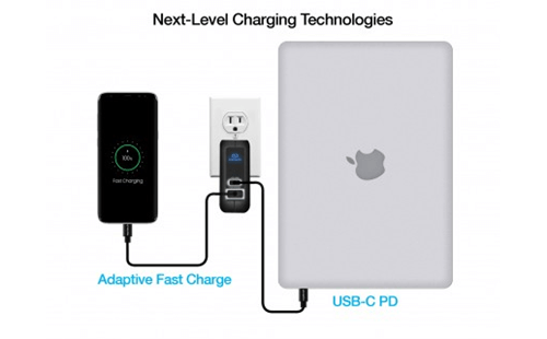Super Speed fast Charger and 18W USB-C PD